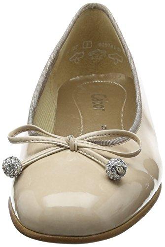 Gabor Shoes Fashion, Bailarinas para Mujer Beige (sand 72)