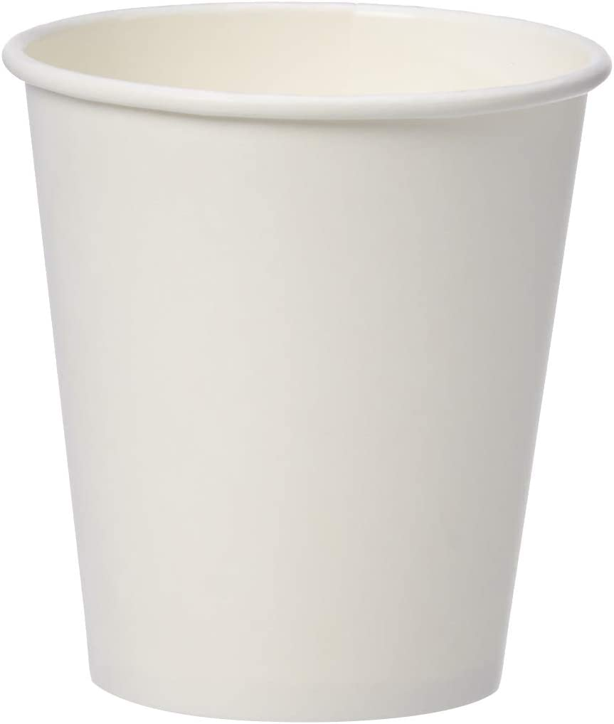 AmazonBasics Compostable 10 oz. Hot Paper Cup, Pack of 300
