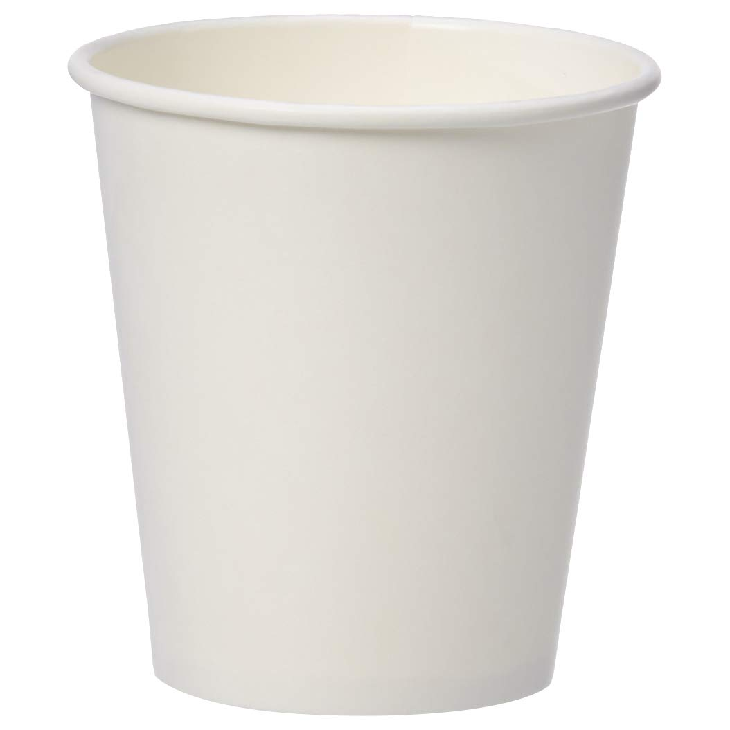AmazonBasics Compostable PLA Laminated Hot Paper Cup, 10 oz, 1,000-Count