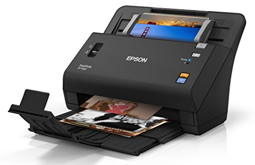 Epson FastFoto FF-640 High-Speed Photo Scanning System with Auto Photo Feeder