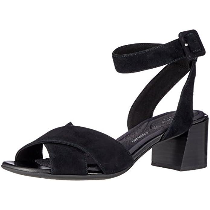 Scarpe E Borse Da Donna Sandali Rockport Total Motion Alaina Cross Con Cinturino Alla Caviglia