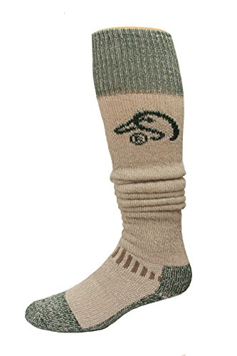 Ducks Unlimited Men's Wool Blend Wader Socks, Tan, Large by Ducks Unlimited