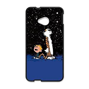 Happy Calvin and tigger Cell Phone Case for HTC One M7