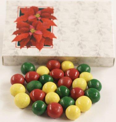 (Scott's Cakes Holiday Mix Gourmet Chocolate Malt Balls in a 1 Pound Poinsettia Box)