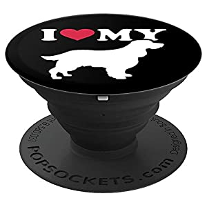 I love my English Springer Spaniel PopSockets Grip and Stand for Phones and Tablets 2