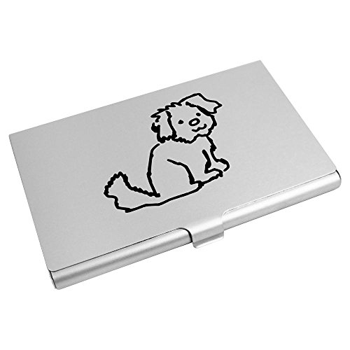 Holder Dog' Credit CH00007114 Azeeda Card Puppy Business 'Sitting Wallet Card XvvrY6z