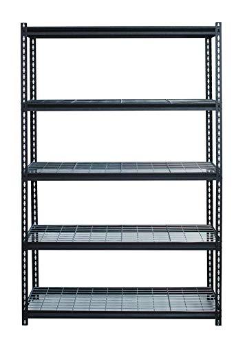 Iron Horse 22131 2300 Deck Wire Shelving Unit, 5 Shelf, 18