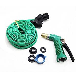 GDW Car Wash Water Cannon Thicken The Pipe Explosion-Proof Hose Random Color 20M