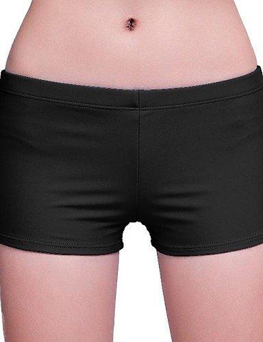 skt-swimwear Damen Badeshorts, Solid Nylon/Spandex Rosa/Blau/Rot/Schwarz