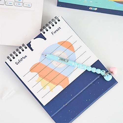 Tischkalender Kalendarien 2020 Jahr Space Tiere Serie Kalender Cartoon-Schwein Bär Tischkalender Tagesterminplaner 2.019,09 bis 2.020,12 (Color : D)