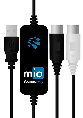 iConnectivity mio 1-in 1-out USB to MIDI Interface for Mac and PC - Image 4