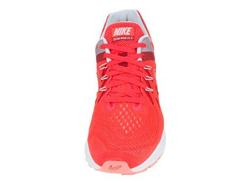Nike Wmns Zoom Winflo 2, Zapatillas de Running Para Mujer Naranja (Brght Crmsn / Mtlc Pltnm-Unvrsty)