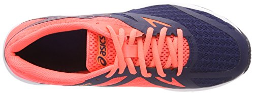 Indigo 4949 Women's Flash Shoes Running Indigo Coral Blue Asics Amplica Pink Blue Multicolor Yvng7xw