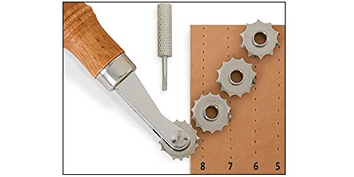 Wheel Embossing (Tandy Leather Craftool Spacer Set 8091-00)