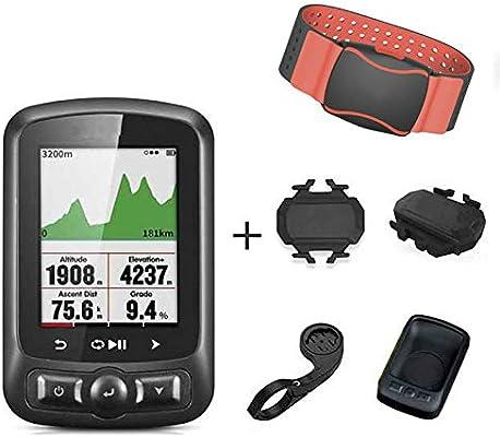 QIANMA Medidor de Velocidad de Bicicleta GPS Bike Computer Ant +Wireless Speedometer Waterproof Bicycle Computer Bluetooth 4.0ble Accesorios De Bicicleta: Amazon.es: Deportes y aire libre