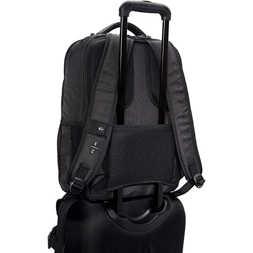 """41dgE613ShL - Kenneth Cole Reaction Brooklyn Commuter 16"""" Backpack Pink Dot Charcoal One Size"""