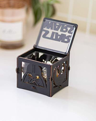 Musical Wooden Box Star Wars Gift Wood Anniversary Gift for Husband May the force be with you Music Box Main Theme Gift for Friend Dad Boyfriend -