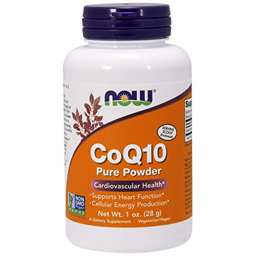 Now Supplements, CoQ10 Pure Powder, 1-Ounce