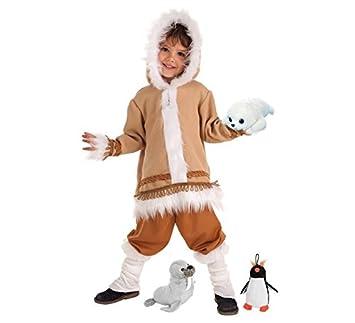 LLOPIS - Disfraz Infantil Esquimal t-4: Amazon.es: Juguetes ...