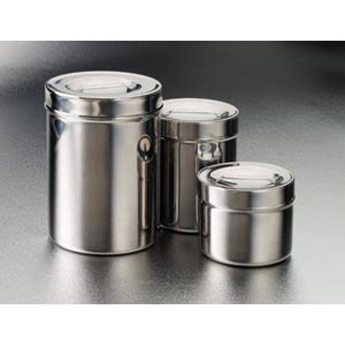 DUKAL 4233-1 Tech-Med Dressing Jar, 1 quart, Stainless Steel