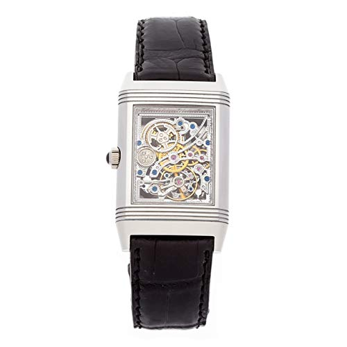Jaeger-LeCoultre Reverso Mechanical (Hand-Winding) Skeletonized Dial Mens Watch Q2166401 (Certified Pre-Owned)