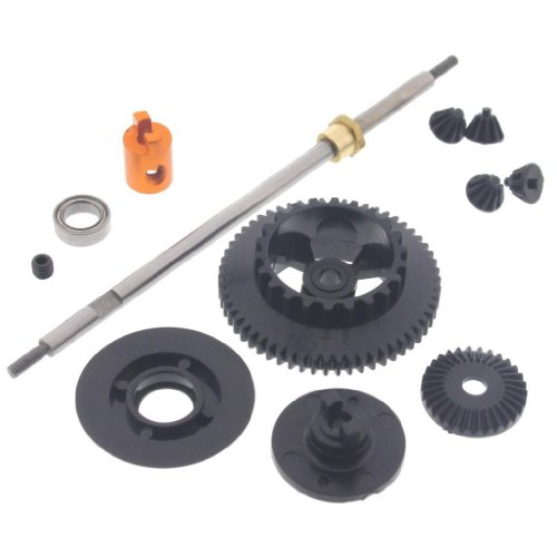 HPI 1/18 Micro RS4 REAR AXLE HUB TOURING SPUR GEAR DIFFERENTIAL PINION - Rs4 Micro Hpi