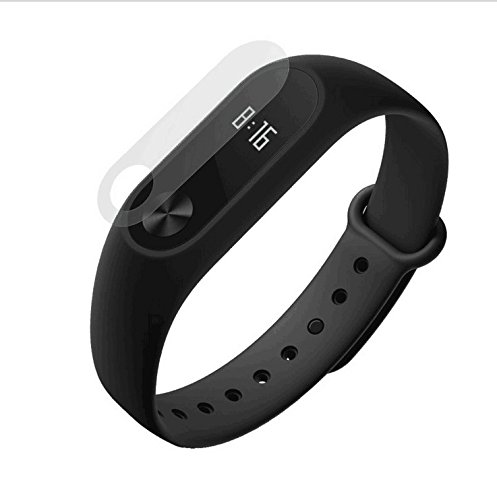 0.1mm HD Protective Film for Xiaomi Miband 2 Transparent (2PCS) - 1