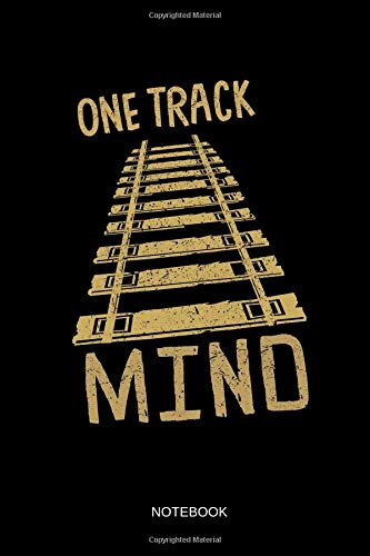 One Track Mind - Notebook: Lined Train & Railroad Notebook for sale  Delivered anywhere in Canada