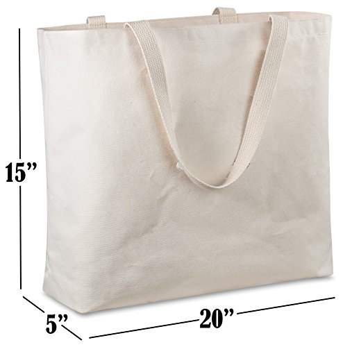 9820f3a8a17 Reusable Canvas Bag - Decorate the Blank Tote Bag with Your Own Custom  Design. Double