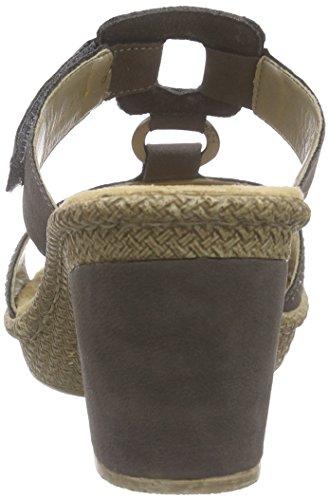 Rieker 66533-45 - Sandalias Mujer Marrón - marrón