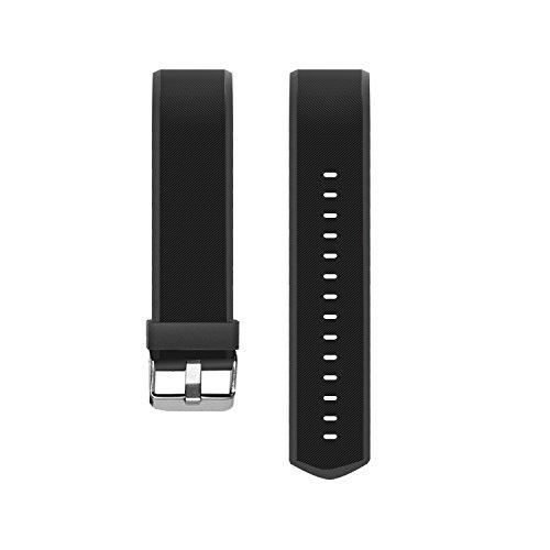 MoreFit Slim HR Plus Band, Adjustable Replacement Strap for MoreFit Slim HR Plus Smart Wristbands, Black