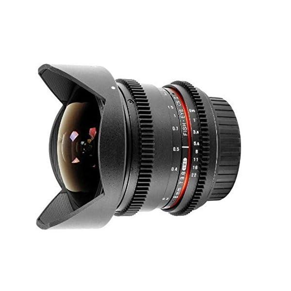 RetinaPix Samyang 8mm T3.8 Fisheye IF MC VDSLR CS II (DH) Lens for Canon