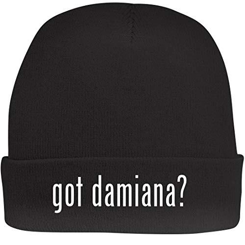 - Shirt Me Up got Damiana? - A Nice Beanie Cap, Black, OSFA