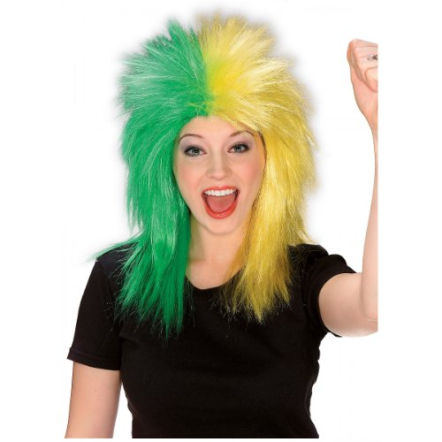 Sports Fanatic Halloween Costume (Sports Fanatix Wig Costume Accessory)