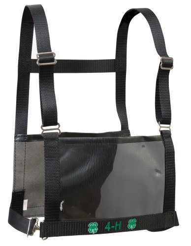- Weaver Leather Livestock 4-H Exhibitor Number Harness