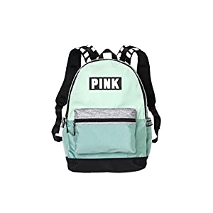 Victorias Secret Pink Campus Backpack Mint/ White PINK Logo