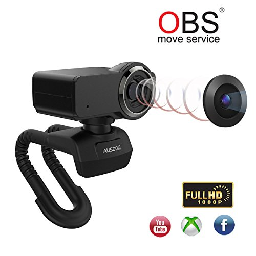 Buy now Ausdom Streamed Webcam Full HD 1080P OBS Live Streaming Web Camera for Xbox