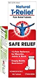 T-Relief Pain Relief Tablets for Minor Joint Pain, Back Pain, Muscle Pain, Nerve Pain and Arthritis Pain - Homeopathic Formula with Arnica - 100 Tablets