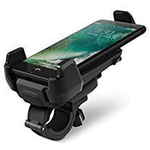 iOttie Active Edge Bike & Bar Mount for iPhone 6 (4.7)/ 5s/ 5c/4s, Galaxy S6/S5/S4, HTC One, Motorola Droid Turbo (Black)