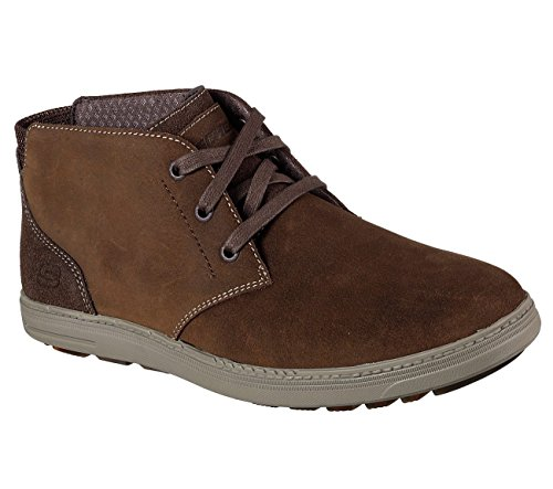 Skechers Mens Droven - Evado, Casual, Marrone, M