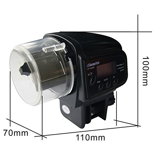 Automatic feeders ebotrade digital automatic fish feeder for Koi pond motors