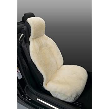Eurow Genuine Australian Sheepskin Sideless Seat Cover