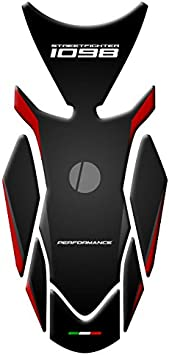 Tank pad Tankpad /& Fuel Cap Ducati Streetfighter 1098/ /cp-227/ Protection Ducati grau