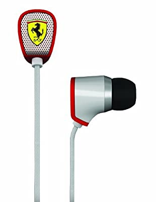 Ferrari AAV-1LFE014T Ferrari Cavallino AAV-1LFE014T T150i Earphones with Three Button Remote
