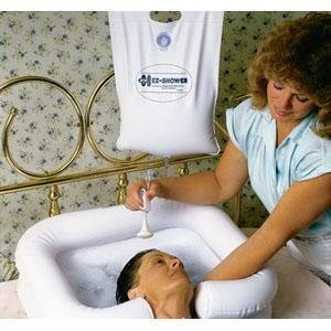 EZ-Access EZ-Shower™ Bedside Shower 2-1/2 gal, 30'' Hose, with On/Off Switch by EZ-ShowerTM
