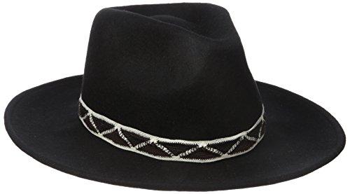 Roxy Junior's My Coco Hat, True Black, Small/Medium