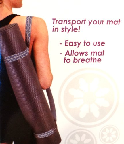 Yoga Mat Carrier with Antimicrobial Protection