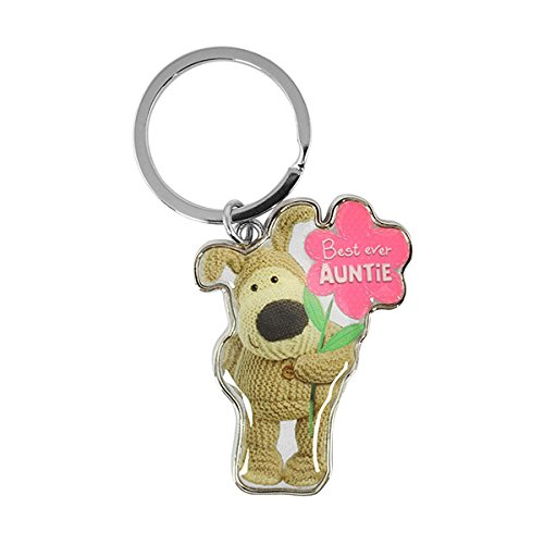 Boofle - Best Ever Auntie Metal Keyring Xpressions
