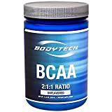 Cheap BodyTech BCAA (Branched Chain Amino Acid) Unflavored Optimal 2:1:1 Ratio Supports Muscle Recovery Endurance (12.5 Ounce Powder)