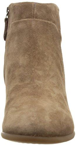 Geox D Lucinda - Botas de cuero mujer marrón - Marron (Taupe)